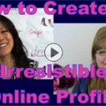 Show #156: How to Create an Irresistible Online Dating Profile