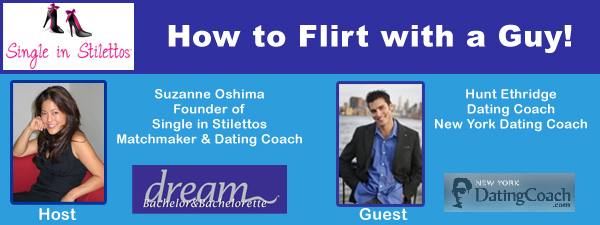 How to Flirt with a Guy! - Dating tips for women