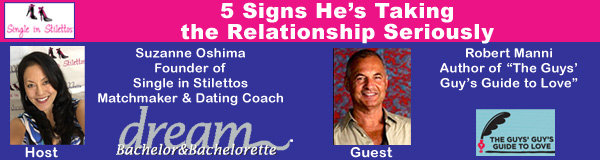 Signs He's Taking the Relationship Seriously